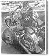 Custom Riders Canvas Print