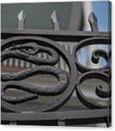 Custom Snake Gate Canvas Print