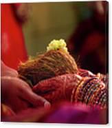 Customs Of The Kannada Wedding Canvas Print