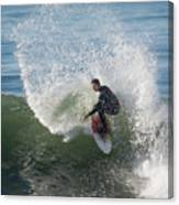 Cutback Splash Canvas Print