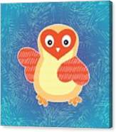 Cute Little Baby Chick Canvas Print