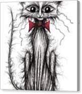 Cuthbert The Cat Canvas Print
