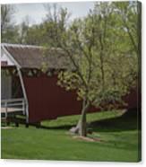 Cutler - Donahoe Covered Bridge - Madison County - Iowa Canvas Print