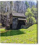 Cuttalossa Mill In The Springtime Canvas Print
