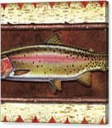Cutthroat Trout Lodge Canvas Print