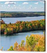 Cuyuna Country State Recreation Area - Autumn #1 Canvas Print