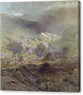 Cwm Trefaen Canvas Print