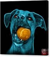 Cyan Boxer Mix Dog Art - 8173 - Bb Canvas Print