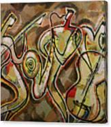 Cyber Jazz Canvas Print