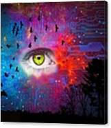 Cyber Nature Canvas Print