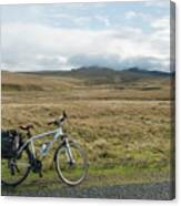 Cycle Across The Beacons Cycle Route. Canvas Print