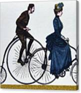 Cycling 1878-1978. Canvas Print