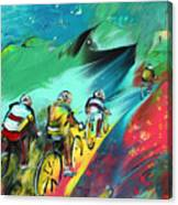Cycling In Majorca 01 Canvas Print