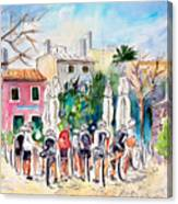 Cycling In Majorca 05 Canvas Print