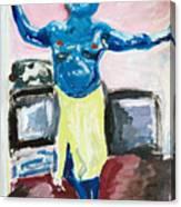 Cyclops At Home Canvas Print