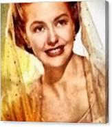 Cyd Charisse, Vintage Hollywood Legend Canvas Print