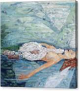 Cygnets Penn And Mermaid Canvas Print