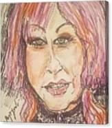 Cyndi Lauper Canvas Print