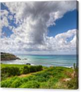 Cyprus Spring Seascape And Landscape Canvas Print
