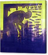 D U Rounds Project, Print 24 Canvas Print