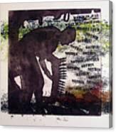 D U Rounds Project, Print 5 Canvas Print
