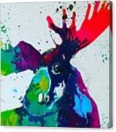 Da-moose Canvas Print