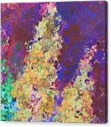 Dabble Flowers Canvas Print