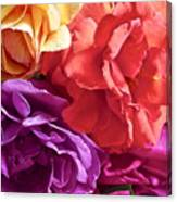 Dad's Roses Canvas Print