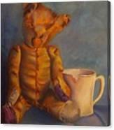 Dad's Teddy Canvas Print