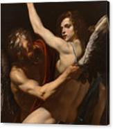 Daedalus And Icarus Canvas Print