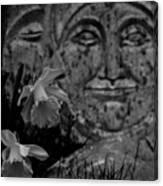 Daffodil Sun And Moon 2 Canvas Print