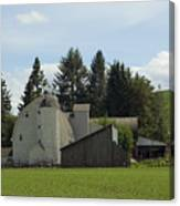 Dahmen Barn Historical Canvas Print