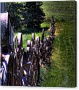 Dahmen Fenceline Canvas Print