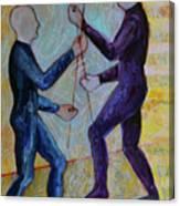 Daily Balancing Canvas Print