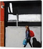Daily Errands Canvas Print