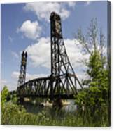 Dain City Railroad Bridge Canvas Print