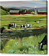 Dairy Farm Dream Canvas Print