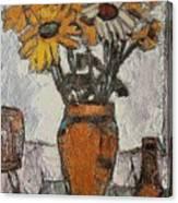 Daisies 5 Canvas Print