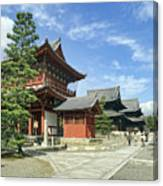 Daitokuji Zen Temple Complex - Kyoto Japan Canvas Print