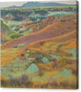 Dakota October Canvas Print
