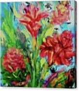 Dala Flower The Flower Of The Ampawa River Maket Canvas Print
