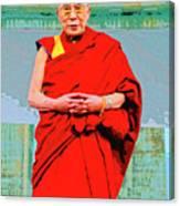 Dalai Lama Canvas Print