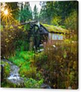 Dalby Waterwheel Canvas Print