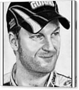 Dale Earnhardt Jr In 2009 Canvas Print