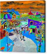 Dali Land Canvas Print