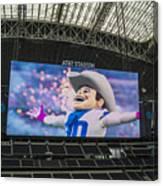 Dallas Cowboys Rowdy Canvas Print