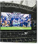 Dallas Cowboys Take The Field Canvas Print