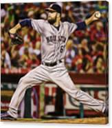 Dallas Keuchel Baseball Canvas Print