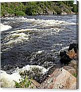 Dalles Rapids French River I Canvas Print