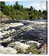 Dalles Rapids French River II Canvas Print